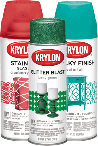 Krylon® Craft and Home Décor Products cans