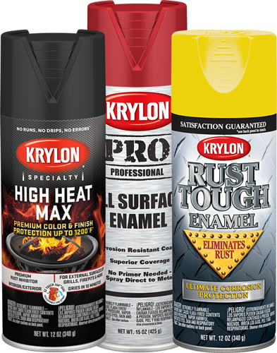 Krylon® Rust Preventative, Specialty, and Professional Products